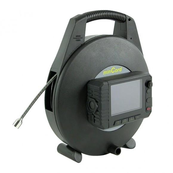 Sewercam MINCORD MR20 - Portable Mini Push Camera for 40 - 90mm Drains
